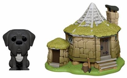 Picture of Harry Potter POP! Town Vinyl Figura Hagrid's Hut & Fang 9 cm