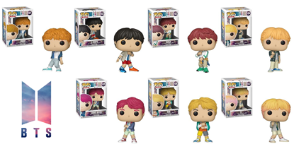 Picture of Pack 7 figuras POP! BTS 9 cm