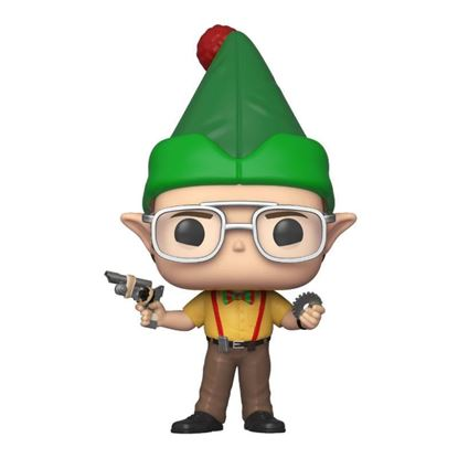Picture of The Office Figura POP! TV Vinyl Dwight as Elf 9 cm.
