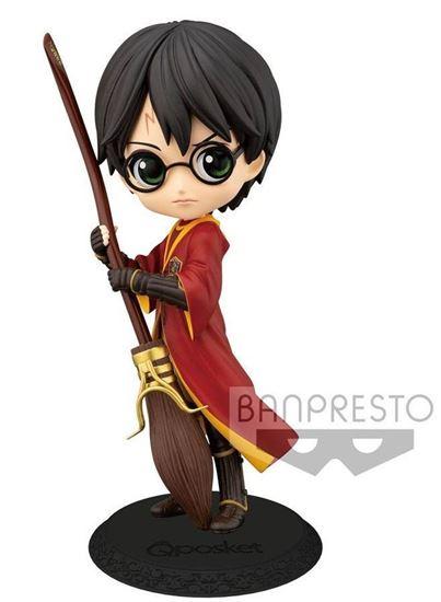 Picture of Figura Q Posket Harry Potter Quidditch (Normal Colour Version) 14 cm.