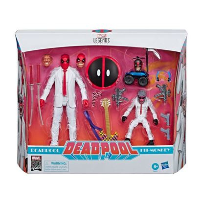 Picture of Marvel Legends Pack de 2 Figuras Deadpool & Hit-Monkey 8-15 cm