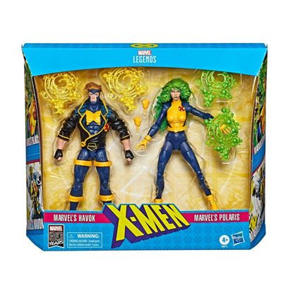 Picture of Marvel Legends 80 Aniversario Pack de 2 Figuras X-Men Havok & Polaris 15 cm