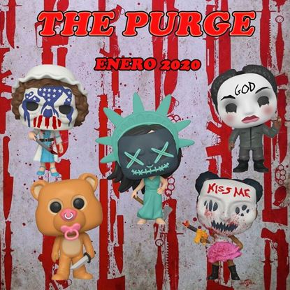 Picture of PACK The Purge: la noche de las bestias POP! Movies Vinyl Figura