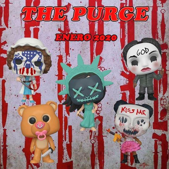 Picture of PACK The Purge: la noche de las bestias POP! Movies Vinyl Figura