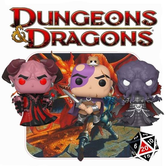 Picture of Pack 3 Figuras Pop! Dungeons & Dragons 9 cm.