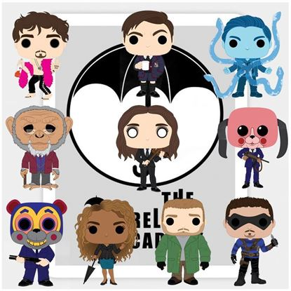 Picture of Pack 10 Figuras POP! The Umbrella Academy 9 cm. DISPONIBLE APROX: MARZO 2020