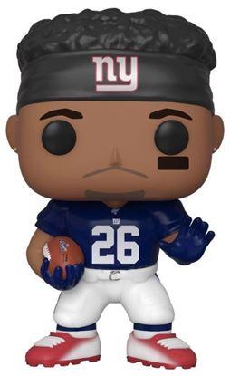 Picture of NFL Figura POP! Football Vinyl Saquon Barkley (Giants) 9 cm. DISPONIBLE APROX: DICIEMBRE 2019