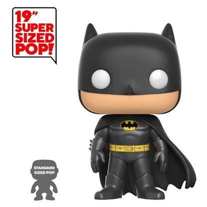 Picture of DC Comics Figura Super Sized POP! Heroes Vinyl Batman 48 cm. DISPONIBLE APROX: FEBRERO 2020