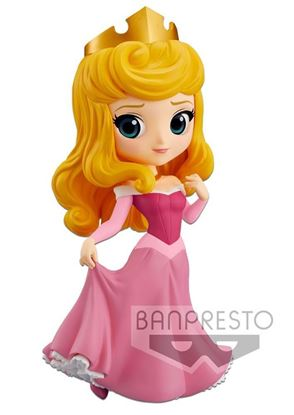 Picture of Figura Q Posket Princess Aurora (Pink Dress) 14 cm