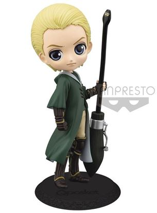 Picture of Figura Q Posket Draco Malfoy Quidditch (Normal Colour Version) 14 cm.
