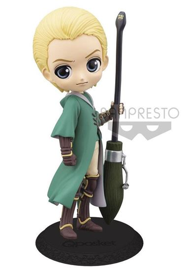 Picture of Figura Q Posket Draco Malfoy Quidditch (Light Colour Version) 14 cm