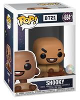 Picture of BT21 Line Friends Figura POP! Animation Vinyl Shooky 9 cm. DISPONIBLE APROX: NOVIEMBRE 2019