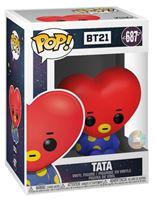 Picture of BT21 Line Friends Figura POP! Animation Vinyl Tata 9 cm. DISPONIBLE APROX: NOVIEMBRE 2019