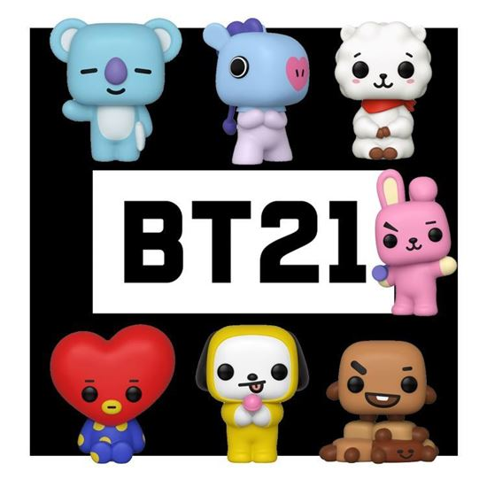 Picture of BT21 Line Friends Figura POP! Animation Vinyl PACK DISPONIBLE APROX: NOVIEMBRE 2019