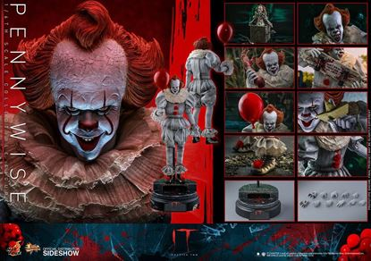 Picture of It - Capítulo 2 Figura Movie Masterpiece 1/6 Pennywise 32 cm Figuras Stephen King´s It RESERVA