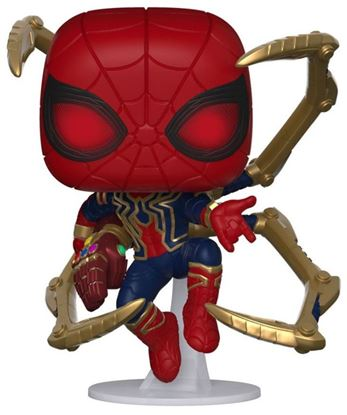 Picture of Avengers: Endgame POP! Movies Vinyl Figura Iron Spider w/Nano Gauntlet 9 cm.