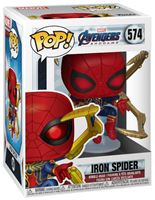 Picture of Avengers: Endgame POP! Movies Vinyl Figura Iron Spider w/Nano Gauntlet 9 cm.
