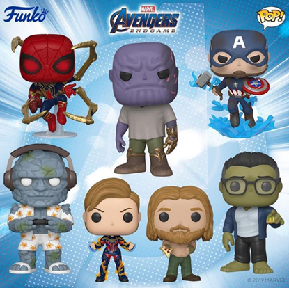 Picture of Pack 7 Figuras Los Vengadores Endgame 9 cm. DISPONIBLE APROX: FEBRERO 2020