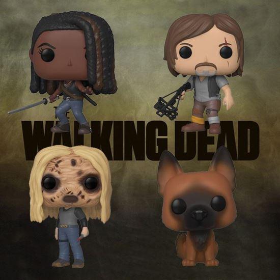 Picture of Pack 4 Figuras POP! The Walking Dead 9 cm