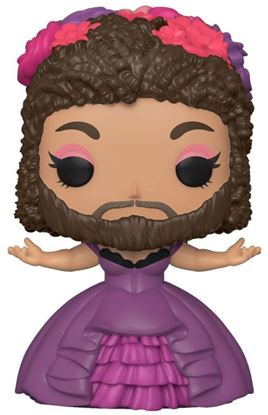 Picture of El Gran Showman POP! Movies Vinyl Figura Bearded Lady 9 cm
