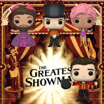 Picture of Pack 4 Figuras POP! El Gran Showman 9 cm. DISPONIBLE APROX: MARZO 2020