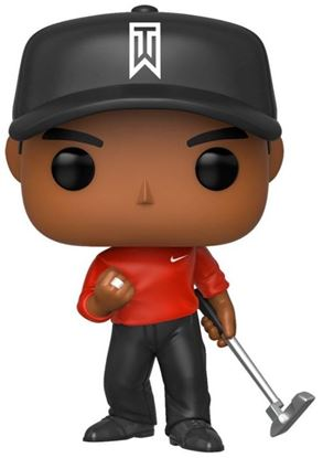 Picture of Tiger Woods POP! Golf Vinyl Figura Tiger Woods (Red Shirt) 9 cm. DISPONIBLE APROX: FEBRERO 2020