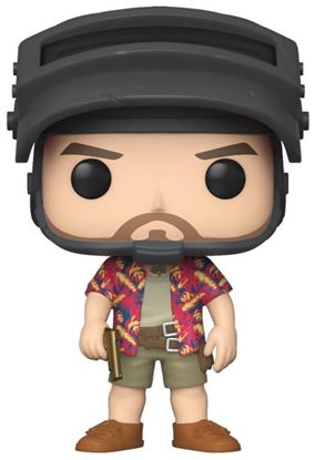 Picture of Playerunknown's Battlegrounds (PUBG) POP! Games Vinyl Figura Hawaiian Shirt Guy 9 cm. DISPONIBLE APROX: FEBRERO 2020