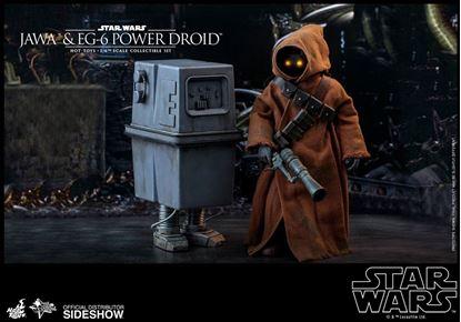 Picture of Star Wars Episode IV Pack de 2 Figuras Movie Masterpiece 1/6 Jawa & EG-6 Power Droid 18-21 cm Figuras Star Wars