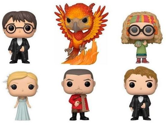 Picture of Pack 6 Figuras POP! Harry Potter 9 cm