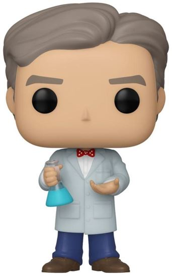 Picture of Bill Nye POP! Icons Vinyl Figura Bill Nye 9 cm. DISPONIBLE APROX: DICIEMBRE 2019