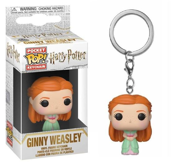 Picture of Pocket Pop! Llavero: Harry Potter - Yule Ball Ginny Weasley