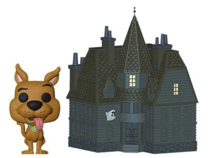 Picture of Scooby Doo POP! Town Vinyl Figura Haunted Mansion 9 cm
