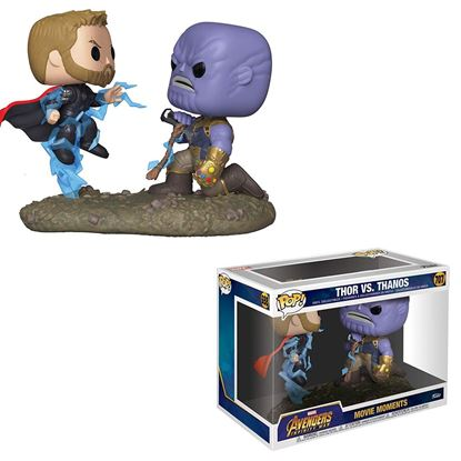 Picture of Marvel Pack de 2 POP! Movie Moments Vinyl Figuras Thor & Thanos 9 cm
