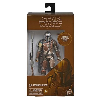 Picture of STAR WARS BLACK SERIES THE MANDALORIAN CARBONIZED COLLECTION . SALIDA APROX. 08 OCTUBRE 2019