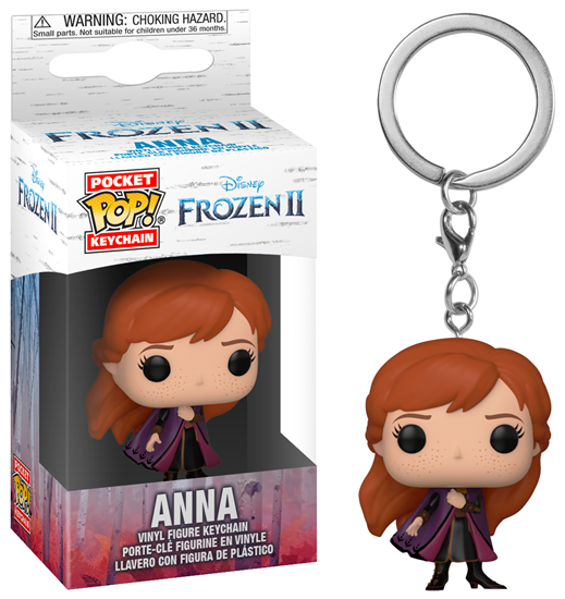 Picture of Frozen 2 Llavero Pocket POP! Vinyl Anna 4 cm