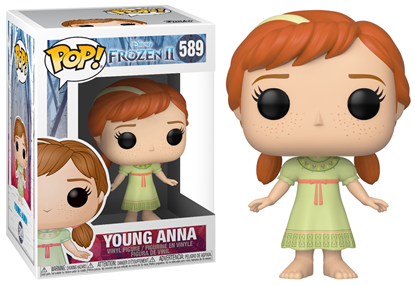 Picture of Frozen 2 Figura POP! Disney Vinyl Young Anna 9 cm