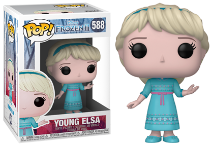 Picture of Frozen 2 Figura POP! Disney Vinyl Young Elsa 9 cm