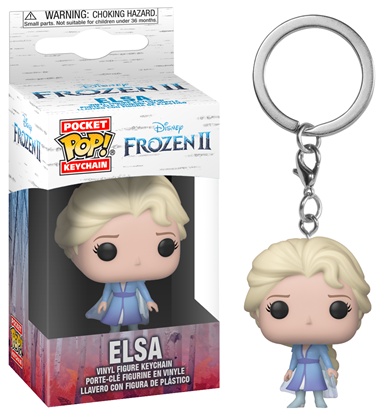 Picture of Frozen 2 Llavero Pocket POP! Vinyl Elsa 4 cm