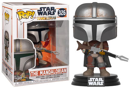 Picture of Star Wars The Mandalorian Figura POP! TV Vinyl The Mandalorian 9 cm