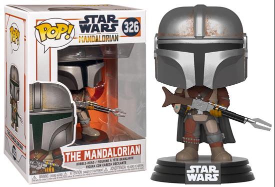 Picture of Star Wars The Mandalorian Figura POP! TV Vinyl The Mandalorian 9 cm