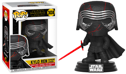 Picture of Star Wars Episode IX Figura POP! Movies Vinyl Kylo Ren Supreme Leader 9 cm