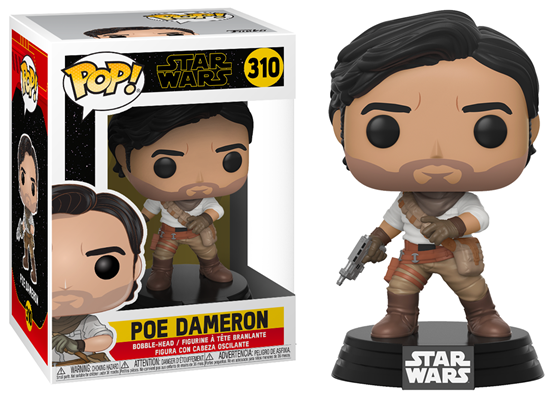 Picture of Star Wars Episode IX Figura POP! Movies Vinyl Poe Dameron 9 cm