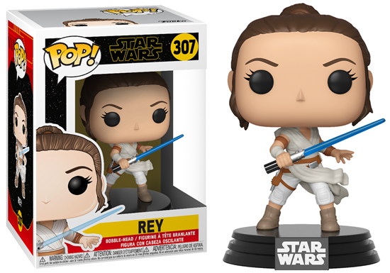 Picture of Star Wars Episode IX Figura POP! Movies Vinyl Rey 9 cm.