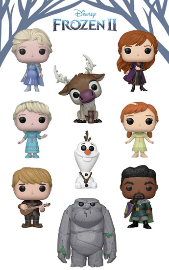 Picture of Pack 9 Figuras Pop! Frozen 2. 9 cm. DISPONIBLE APROX: ENERO 2020