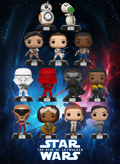 Picture of Pack 13 Figuras Pop! Star Wars Episode IX 9 cm. DISPONIBLE APROX: ENERO 2020