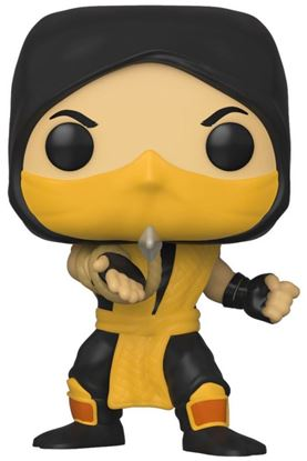 Picture of Mortal Kombat POP! Games Vinyl Figura Scorpion 9 cm. DISPONIBLE APROX: ABRIL 2020
