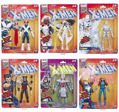Picture of Marvel Legends retro X-MEN WAVE COMPLETA