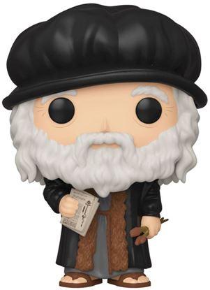 Picture of Leonardo da Vinci POP! Artists Vinyl Figura 9 cm. DISPONIBLE APROX: MAYO 2020
