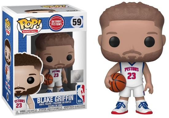 Picture of NBA POP! Sports Vinyl Figura Blake Griffin (Detroit Pistons) 9 cm. DISPONIBLE APROX: DICIEMBRE 2019