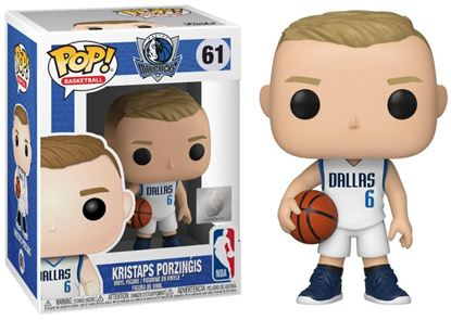 Picture of NBA POP! Sports Vinyl Figura Kristaps Prozingis (Dallas Mavericks) 9 cm. DISPONIBLE APROX: DICIEMBRE 2019